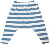 Bonds Slouchy Stripe Pants - Chambray (0-3 Months)