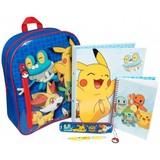 Pokemon Filled Backpack Set