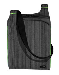 Omp Minerva Series Tablet/Laptop Satchel - Grey/Green