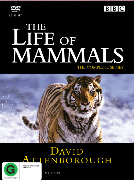 The Life of Mammals - The Complete Series on DVD image