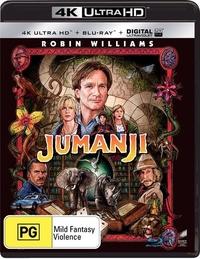 Jumanji on UHD Blu-ray