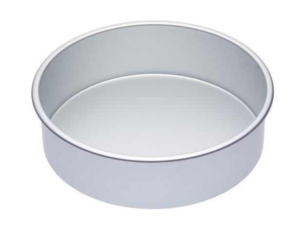 MasterClass: Silver Anodised Round Deep Cake Pan (25cm)