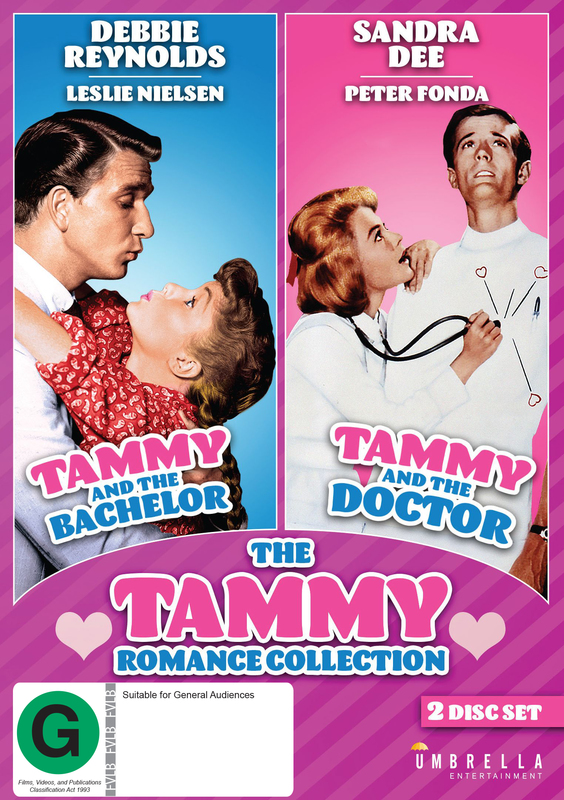 The Tammy Romance Collection on DVD