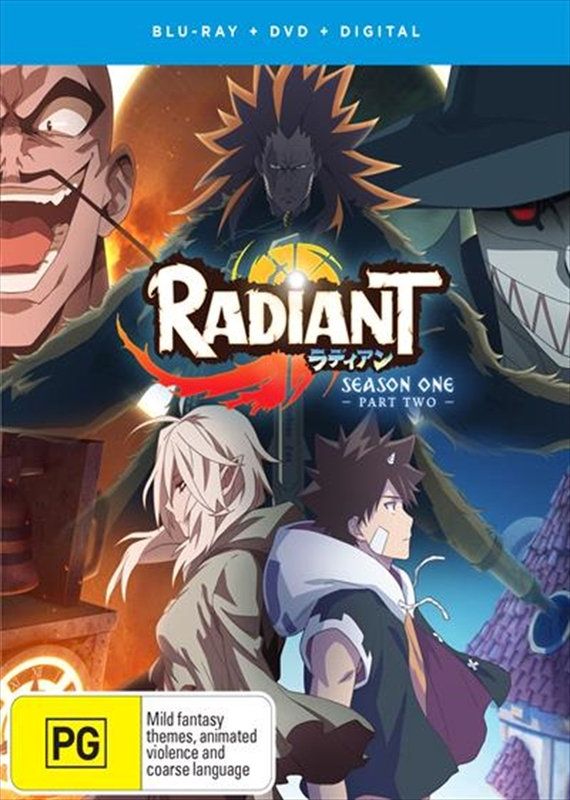 Radiant: Part 2 (Eps 13-21) DVD / Blu-ray Combo on DVD, Blu-ray
