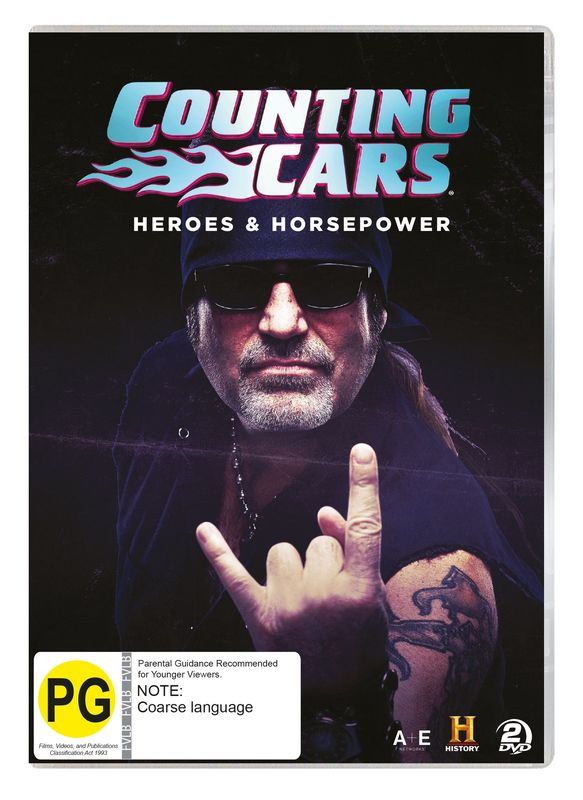 Counting Cars: Heroes & Horsepower on DVD