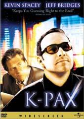 K-Pax on DVD
