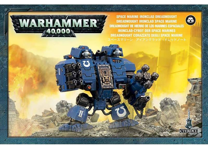 Warhammer 40,000 Space Marine Ironclad Dreadnought image