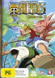 One Piece (Uncut) Collection 18 on DVD