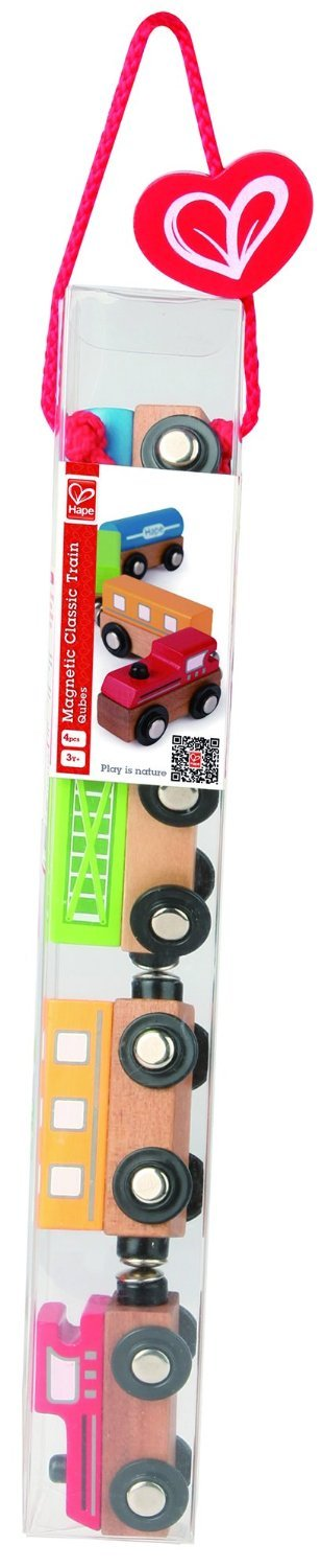 Hape: Magnetic Classic Train Toy