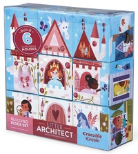 Crocodile Creek: Little Architect Block Set - Girls
