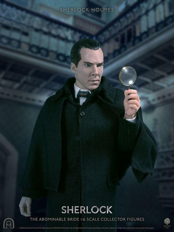 "Sherlock - 12"" Sherlock Holmes (The Abominable Bride) Articulated Figure"