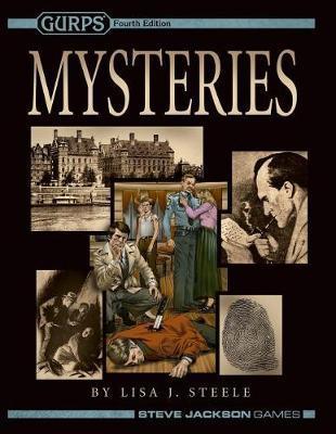 Gurps Mysteries by Lisa J Steele image