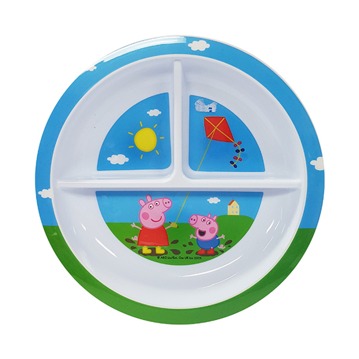 Peppa Pig Section Plate image
