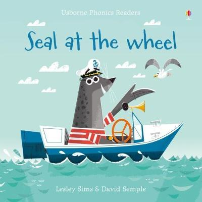 Seal at the Wheel by Lesley Sims image