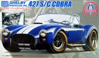 Fujimi: 1/24 Shelby Cobra 427SC (with Engine) - Model Kit