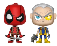 Deadpool + Cable - Vynl. Figure 2-Pack