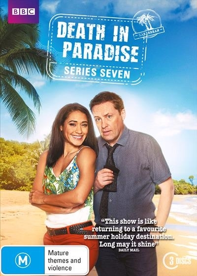 Death in Paradise: Season 7 on DVD