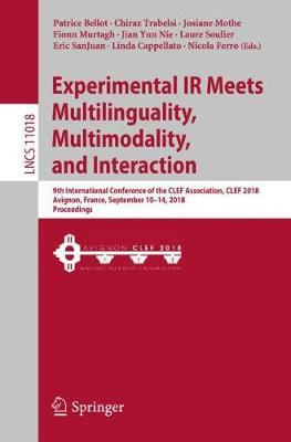 Experimental IR Meets Multilinguality, Multimodality, and Interaction image