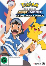 Pokemon The Series: Sun & Moon - Ultra Adventures Collection 1 on DVD