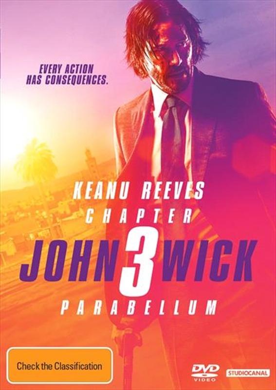 John Wick: Chapter 3 - Parabellum on DVD