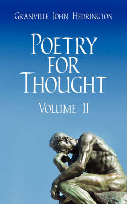 Poetry for Thought by Granville John Hedrington image