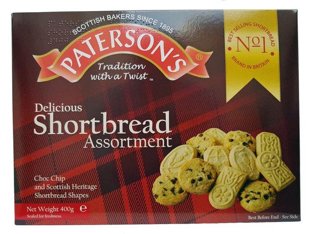 Paterson's Choc Chip & Shortbread Assortment 400g