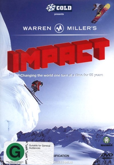 Warren Miller's - Impact on DVD image