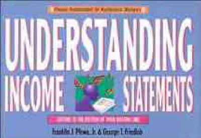 Understanding Income Statements by Franklin J. Plewa