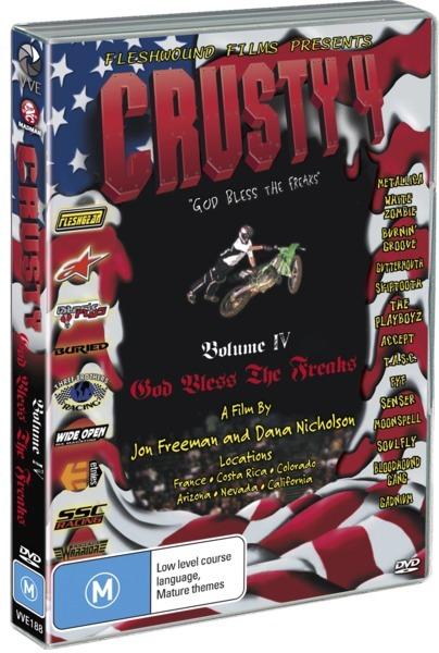 Crusty Demons: Volume 4 - God Bless The Freaks on DVD