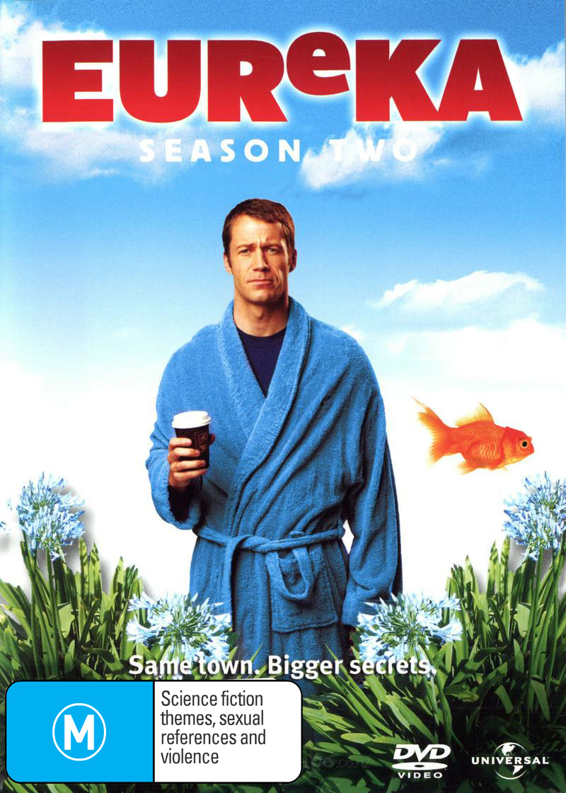 Eureka - Season 2 (3 Disc Set) on DVD image