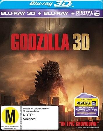 Godzilla 3D on Blu-ray, 3D Blu-ray