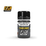 AK-2074 Paneliner for White & Winter Camouflage