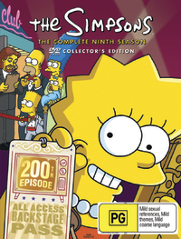 The Simpsons - Season 9 on DVD image