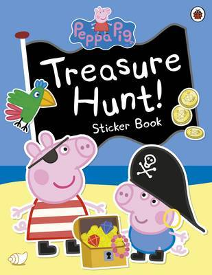 Peppa Pig: Treasure Hunt! Sticker Book by Peppa Pig