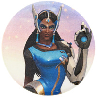 Overwatch Symmetra Button