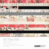 """Kaisercraft 6.5"""" Paper Pad (Hanami Garden)"""