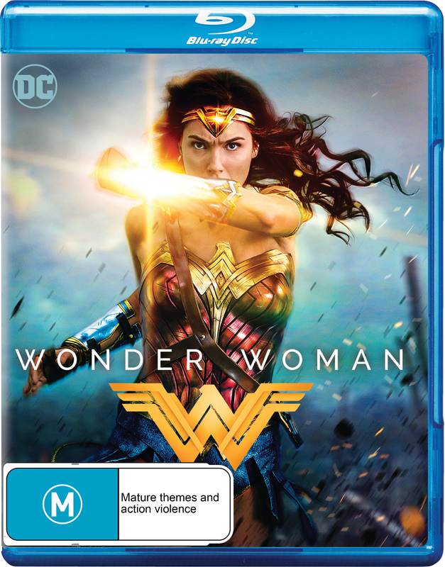 Wonder Woman (2017) on Blu-ray