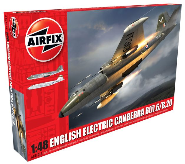Airfix English Electric Canberra B(i).6/B.20 1:48 Model Kit