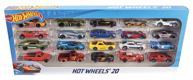 Hot Wheels: Basic Car - 20 Pack