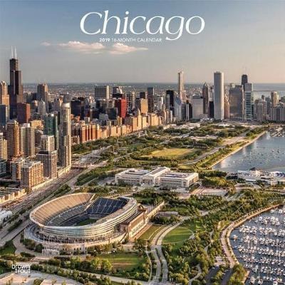 Chicago 2019 Square by Inc Browntrout Publishers