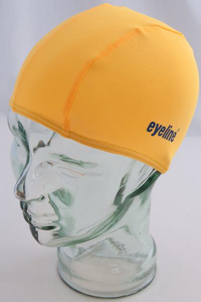 Eyeline Polyester Kids Swim Cap - Yellow
