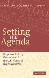 Setting the Agenda by Gary W Cox