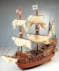 Artesania Latina San Francisco II 1:90 Wooden Model Kit