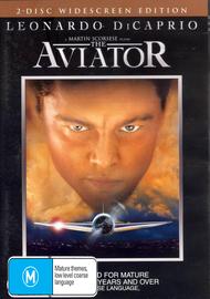 Aviator, The  (2 Disc Set) on DVD image