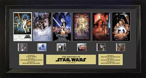 FilmCells: Montage Frame - Star Wars (Through the Ages)