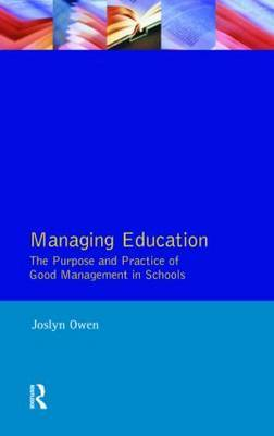 Managing Education by Joslyn Owen