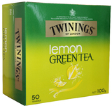 Twinings Lemon Green Tea (50 Bags)