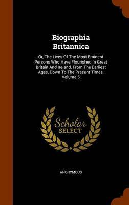 Biographia Britannica by * Anonymous image