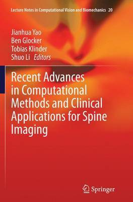Recent Advances in Computational Methods and Clinical Applications for Spine Imaging image