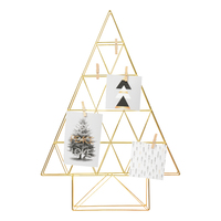 Metal Tree with Pegs - Gold